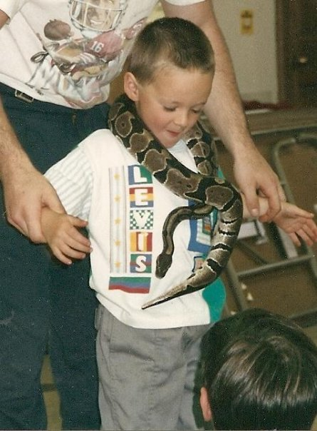 I made that snake my bling bitch straight hood rap shit nuttin phaze me.
