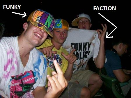 When you go to Rock the Bells and support Funky Faction (see my blogroll)
