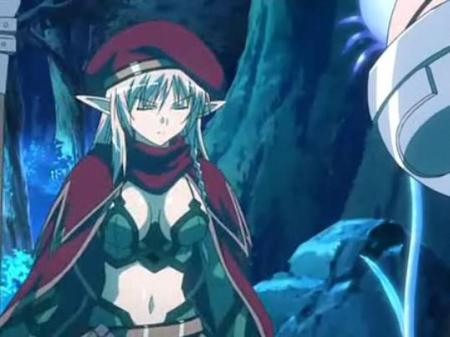 When you're showing skin in this show, you're going to be in Queen's Blade (tournament)