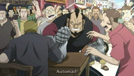 This is NOT Automail Arm-Wrestling. This is BULLSHIT.