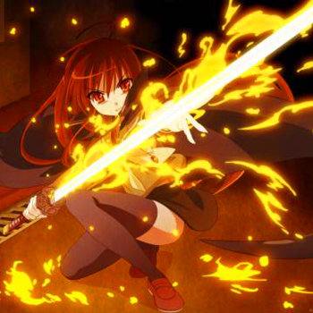It's a picture of Shana looking awesome, in other words, it's any picture of Shana.