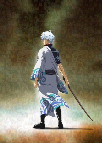 Gintoki is cool looking.