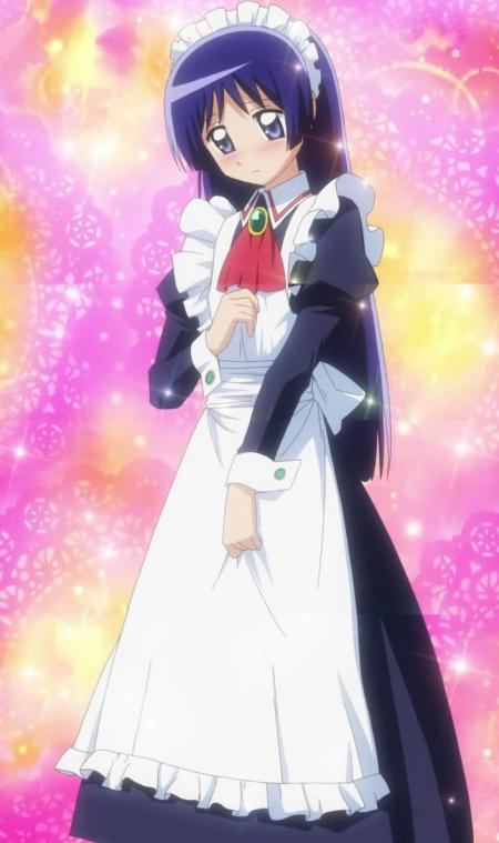 Isumi? In a maid costume? I'm sure some fan will be happy.