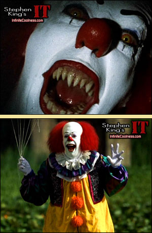 I have never seen this movie. That's because it looks fucking retarded. And it has a clown.