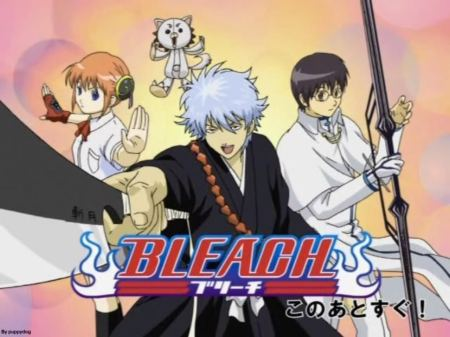 I HATE parodies. God they suck. By the Bleach, the episodes in Bleach have been really awesome lately.